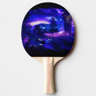 Raquete Para Ping Pong Sonhos Amethyst de Bali da safira