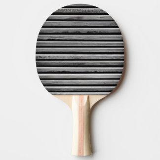Raquete Para Ping-pong Teste padrão de madeira simples da listra