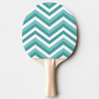 Raquete Para Ping Pong Teste padrão de ziguezague aquático da viga de