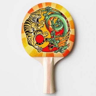 Raquete Para Ping Pong Tigre e dragão de Tao