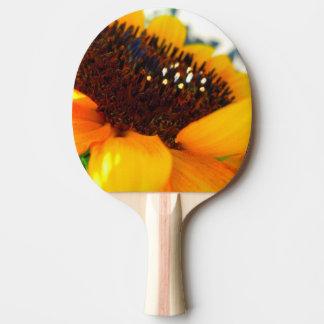 Raquete Para Ping-pong Um girassol angular