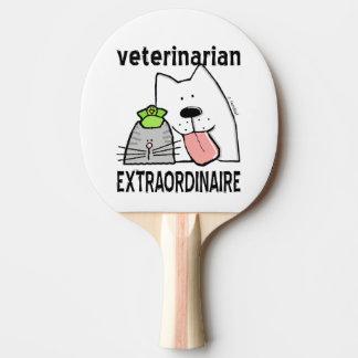 Raquete Para Ping-pong Veterinário do divertimento Extraordinaire