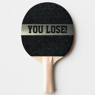 Raquete Para Ping-pong Você perde Smack a pá de Pong do sibilo da