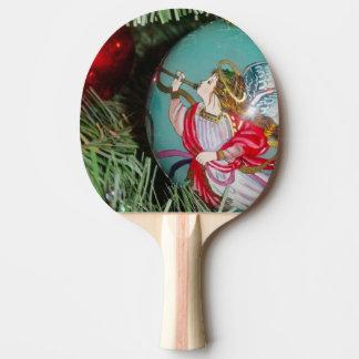 Raquete Para Tênis De Mesa Anjo do Natal - arte do Natal - decorações do anjo