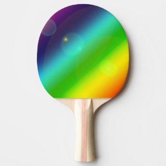 Raquete Para Tênis De Mesa Arco-íris borbulhante