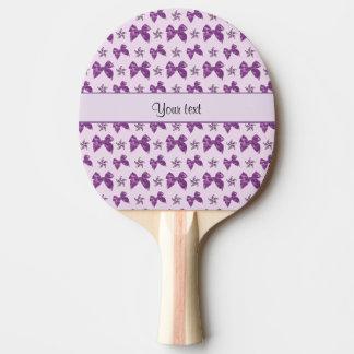 Raquete Para Tênis De Mesa Arcos roxos bonitos do cetim
