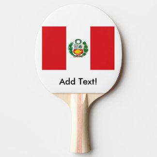 Raquete Para Tênis De Mesa Bandeira de Peru