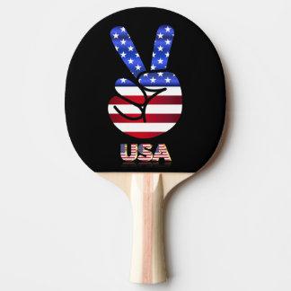 Raquete Para Tênis De Mesa Bandeira dos Estados Unidos