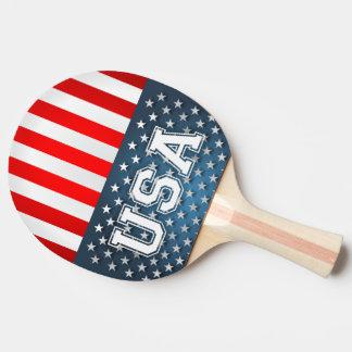 Raquete Para Tênis De Mesa Bandeira dos EUA