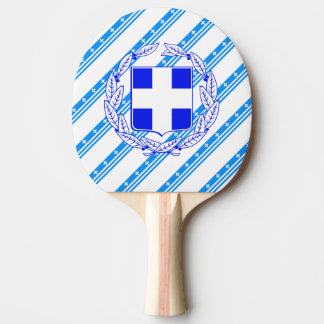 Raquete Para Tênis De Mesa Bandeira grega das listras