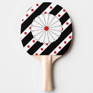 Raquete Para Tênis De Mesa Bandeira japonesa das listras