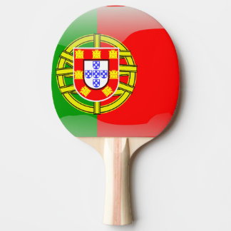 Raquete Para Tênis De Mesa Bandeira lustrosa de Portugal