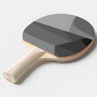 Raquete Para Tênis De Mesa Blocos geométricos cinzentos