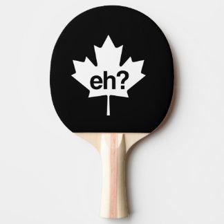 Raquete Para Tênis De Mesa Canadense Eh? Folha de bordo