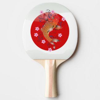 Raquete Para Tênis De Mesa Carpa japonesa do koi