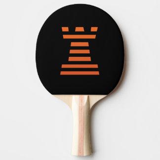 Raquete Para Tênis De Mesa ChessME! Preto de Pong do sibilo