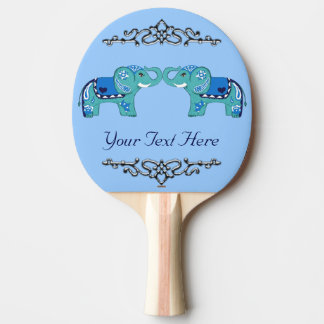 Raquete Para Tênis De Mesa Elefante do Henna (azul/luz - azul)