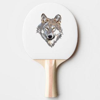 Raquete Para Tênis De Mesa Lobo principal - ilustração do lobo - lobo