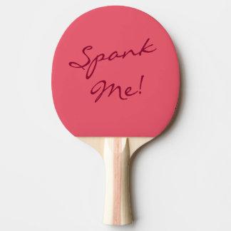 Raquete Para Tênis De Mesa O divertimento impertinente espanca-me pá de Pong