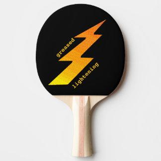 Raquete Para Tênis De Mesa Pá de Pong do sibilo do parafuso do relâmpago