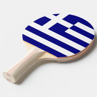 Raquete Para Tênis De Mesa Pá do pong do sibilo com a bandeira da piscina
