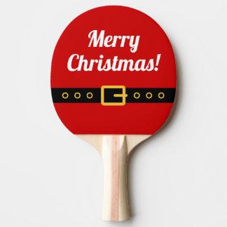 Raquete Para Tênis De Mesa Pá do pong do sibilo do Feliz Natal para o ténis