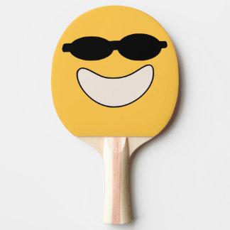 Raquete Para Tênis De Mesa Pá legal de Pong do sibilo do smiley