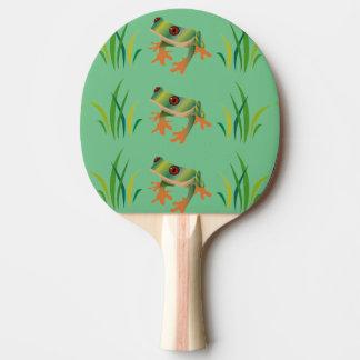 Raquete Para Tênis De Mesa Sapos de árvore em pás de Pong do sibilo
