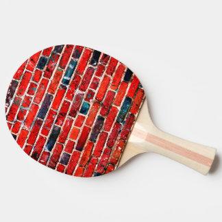 Raquete Para Tênis De Mesa Textura legal da parede de tijolo