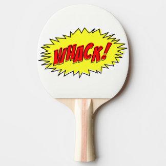 Raquete Para Tênis De Mesa Whack cómico retro do Whack! Pá de Pong do sibilo