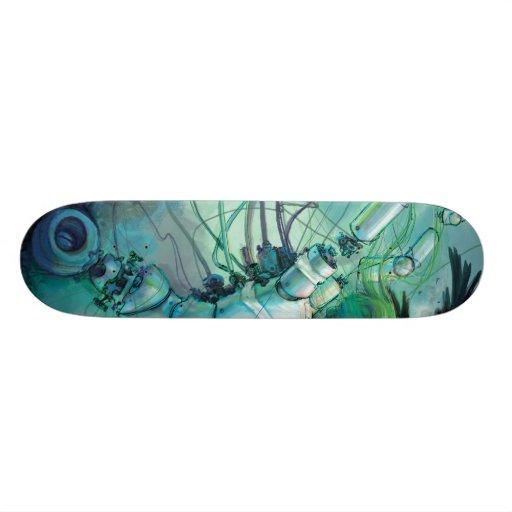 Rasgos desmontados 1 do skate 2
