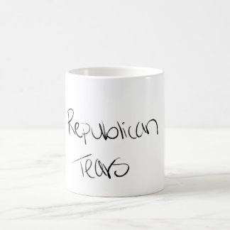 rasgos do republicano da caneca 11oz sem o