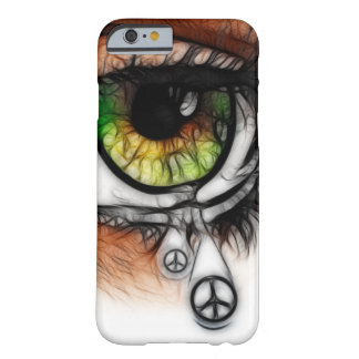 Rasgos para a paz capa barely there para iPhone 6