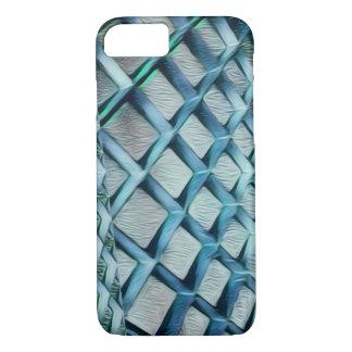Raspe-o capa de telefone do azul do diamante