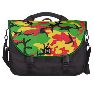 Rasta coloriu o saco da camuflagem bolsa para computador portátil