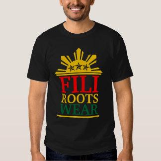 rasta corajoso do filirootswear t-shirts