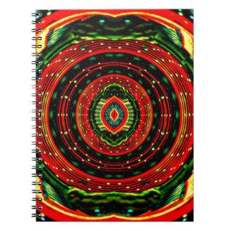 Rasta psicadélico cadernos espiral