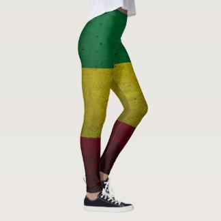 Rastafara Power - Rasta yoga reggae genebra de pôr Legging