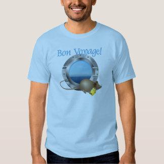Rato da navigação em férias camiseta