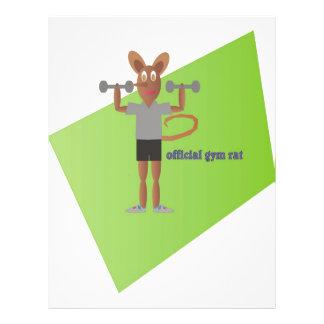 Rato do Gym Panfletos
