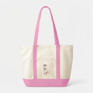 rato dos desenhos animados bolsas para compras