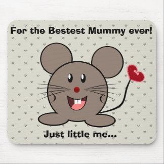 Rato engraçado do dia dos namorados mousepads