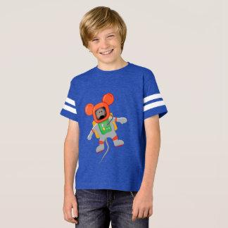 Rato T do espaço - meninos Camiseta