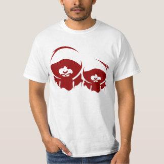 Ratos da capa stencile camiseta