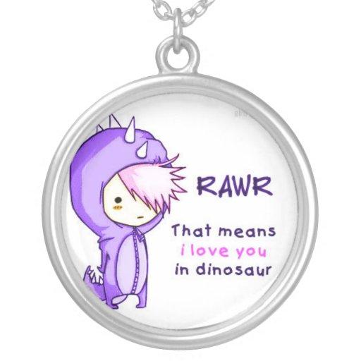 RAWR <3 PINGENTE