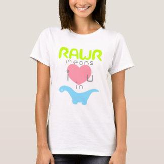 Rawr Camiseta