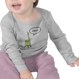 Rawr do dinossauro! t-shirt