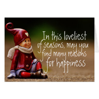 Razões do achado para o cartão da felicidade