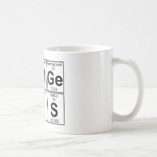 Re-Al-GE-Ni-U-s (gênio real) - cheio Caneca De Café