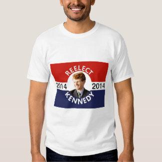 Re-elect Joe Kennedy ao congresso Camisetas